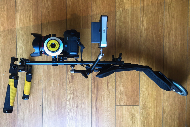 Ikan Shoulder Rig with Follow Focus