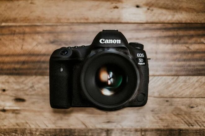 Canon 5D Mark IV (Body with batteries and charger)