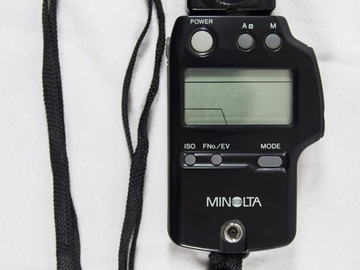Rent: Minolta IV F Digital Light Meter