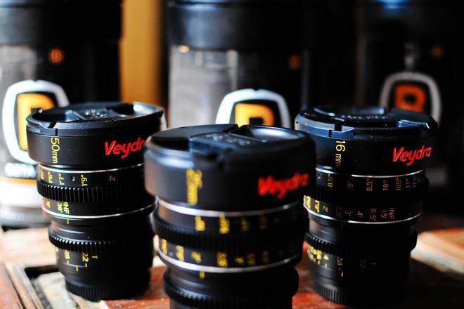 Veydra Set (2 lense choices 16mm  25mm  50mm)