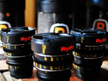 Rent: Veydra Set (2 lense choices 16mm| 25mm| 50mm)