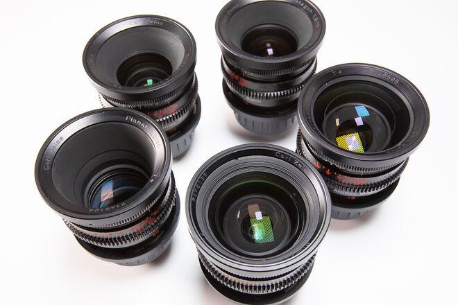 Zeiss Super Speeds Mark II Lenses - PICK TWO  (Super 16mm)