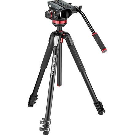 Manfrotto 502AH Video Head + MT055XPRO3 Tripod Kit