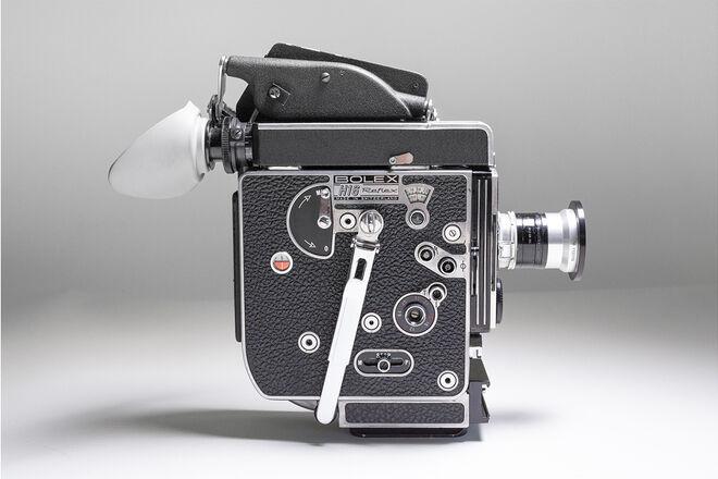 Bolex H16 Reflex 16mm Film Camera (Super 16) Switar Primes