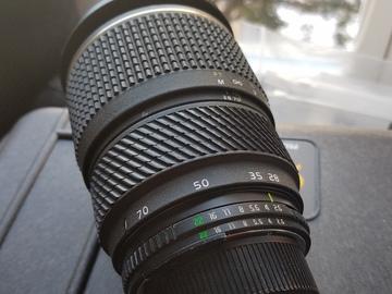 Rent: Tokina 28-70mm f/2.6-2.8 (Angenieux Design)