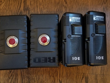 Rent: RED V-mount Batteries (x4)