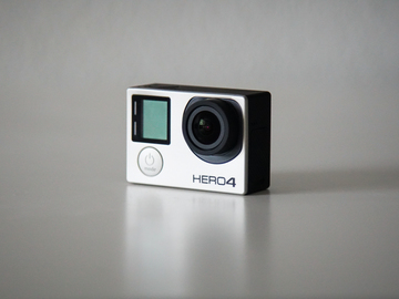 Rent: GoPro Hero 4 Black w/ Smart Remote, LCD BacPac, and ND's