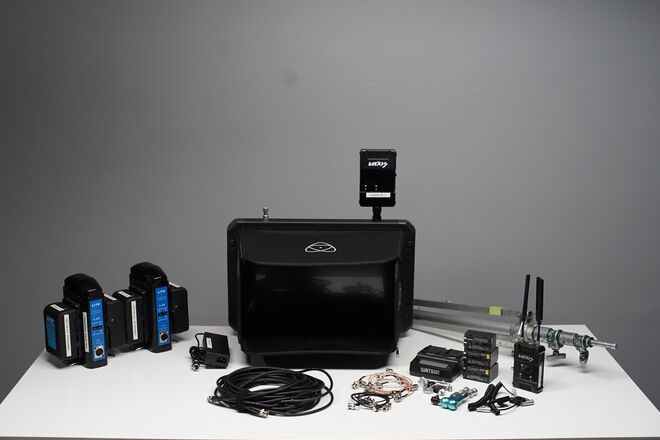 "Complete Wireless Playback Kit. 19"" Atmos + Vaxis Wireless"