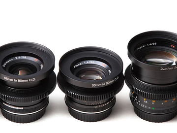 Rent: Zeiss Contax Individual Lenses