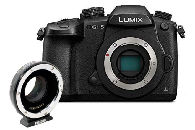 Panasonic Lumix DC-GH5 Digital Camera WITH SpeedBooster