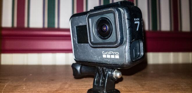 GoPro HERO7 Black + Three Batteries w/ Charger