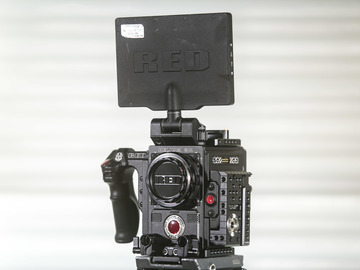 Rent: Red Epic-W 8K S35 Helium, w. batts, media, and full aks set