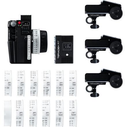 Teradek CTRL.3 Motor Wireless Lens Control Deluxe 3-Motor Ki