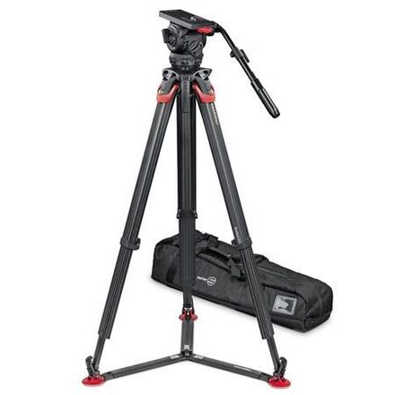 Sachtler 18P Tripod and 100mm Fluid Head Kit