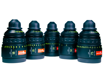 ARRI Zeiss MASTER PRIMES (5 x Brand New Lenses in Pelicase)