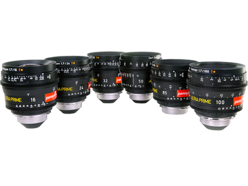Rent: ARRI Zeiss ULTRA PRIMES (6 x Brand New Lenses in Pelicase)