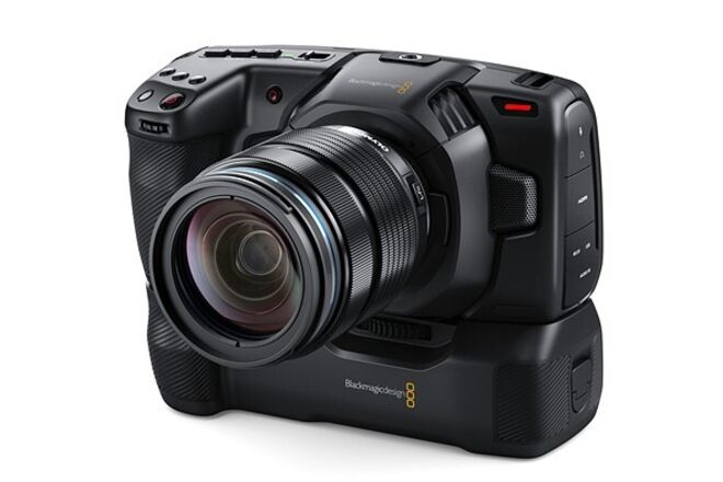 Blackmagic Design Pocket Cinema Camera 6K (Grip Kit)