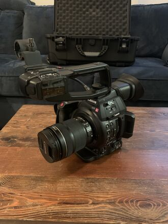 Canon EOS C100 Mark II w 18-135mm lens