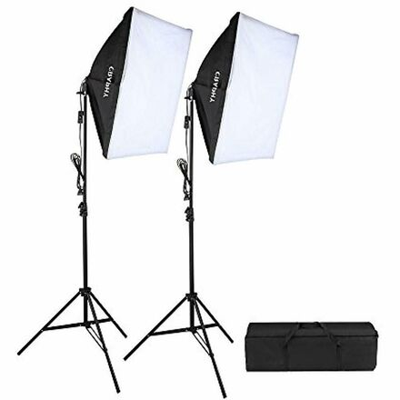 Photography Studio Soft Box Lighting Kit