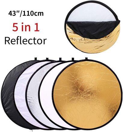 MOUNTDOG 43''/110cm Photography Reflector