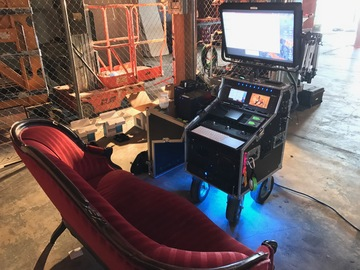 Rent: Custom Small DIT Cart