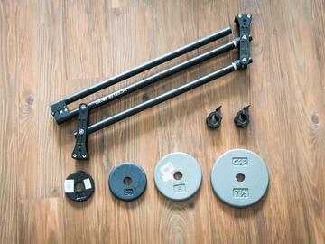 Rent: Genustech Mini Jib w/ Weights
