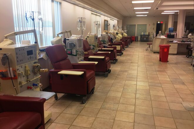 Medical Space - Dialysis Unit for filming