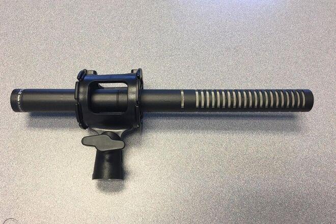 Rode NTG2 Shotgun Microphone w/ Shockmount