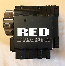 Red Epic Dragon Camera Kit PL or EF with Media and Batteries