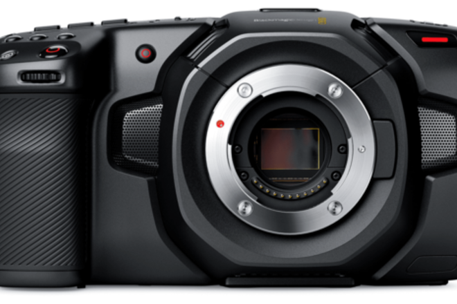 Black Magic 4K pocket Camera Micro 4/3 Mount kit