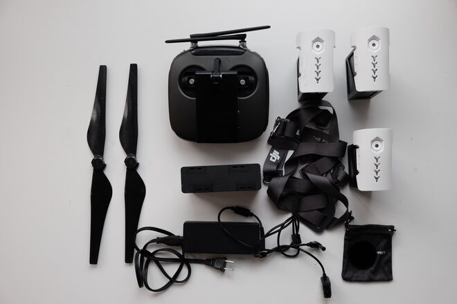 DJI Inspire 2 Black With Zenmuse X5 and 4 Batteries