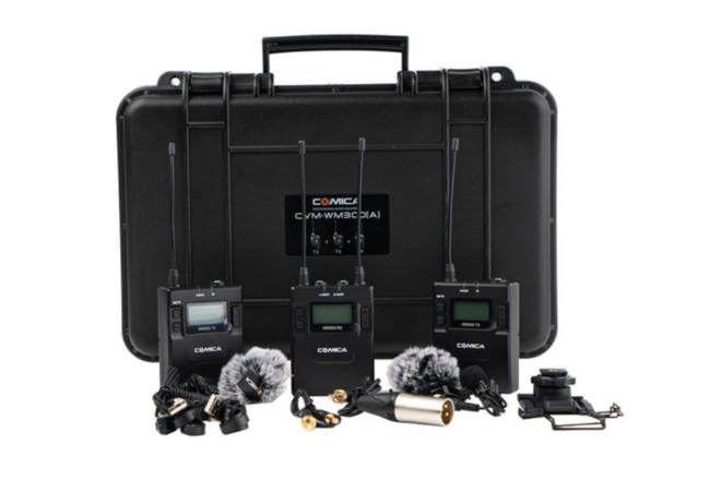 Comica Wireless Lavalier Mic Kit - Two (2) Mics