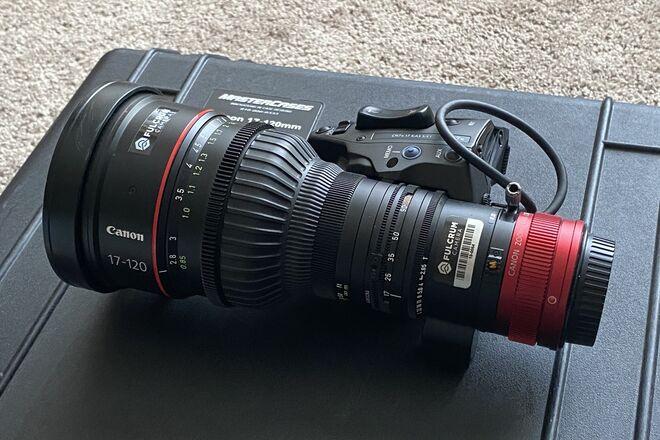 Canon 17-120 cine-servo lens (EF Mount)