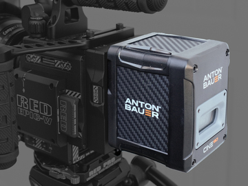 Rent: (4) Anton Bauer Cine 90 V-Lock Batteries & Quad Charger
