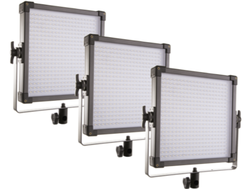 Rent: Set of 3 Bi-color 1x1 LED panels.  (F&V)