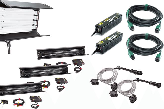 Kino Flo 5 Light Kit