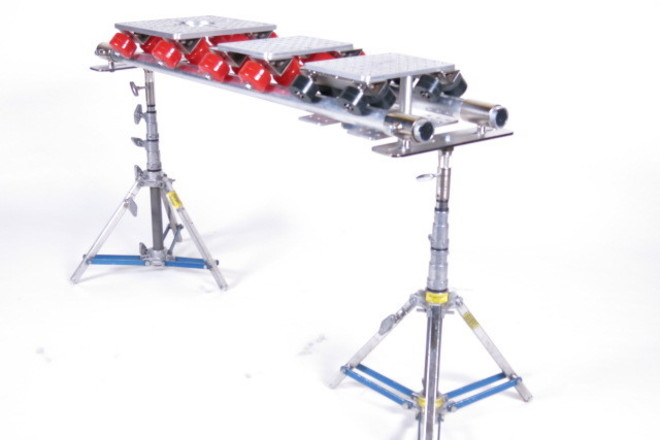 Slider w/ 2x junior combo stands and speed rail