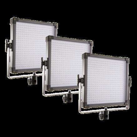 3x bi-color 1x1 LED set