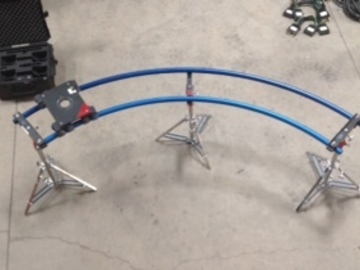 Rent: Dana Dolly w/ Curve track, Stands