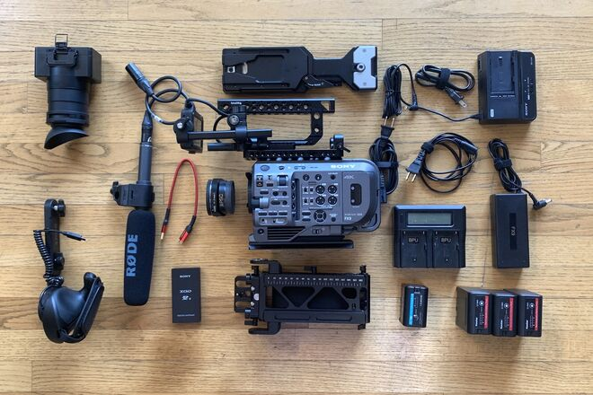 Sony PXW-FX9 Full Frame Camera with Sony 24-70mm F2.8