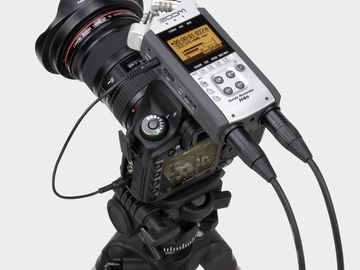 Rent: ZOOM H4N kit records all 4 XLR channels simultaneously