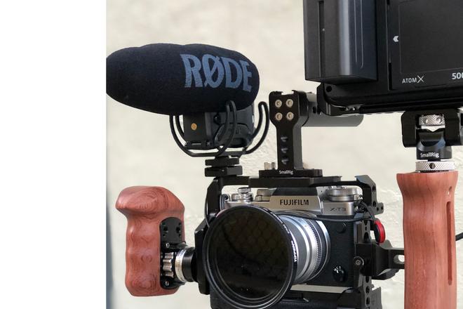 Fuji X-T3 Cinema Kit & External Recorder