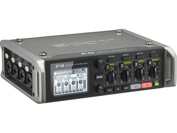 Rent: Zoom F4 Multitrack Field Recorder with Timecode - 6 Inputs