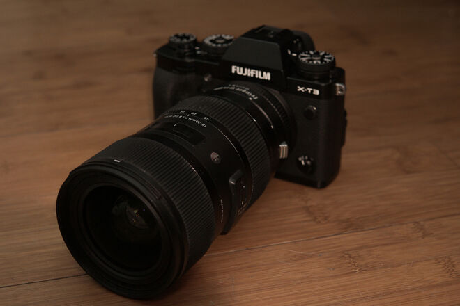 Fuji X-T3 (w/ Sigma 18-35 1.8 Lens)