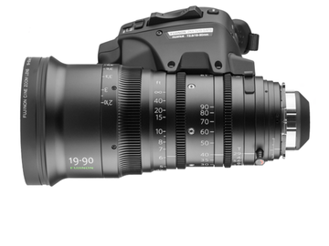 Rent: Fujinon 19-90mm T2.9 Cabrio PL Lens and Servo