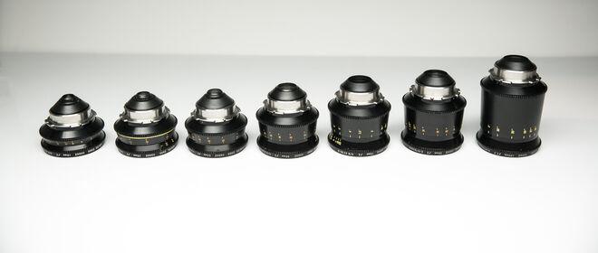 Cooke Speed Panchro Prime Lens Set