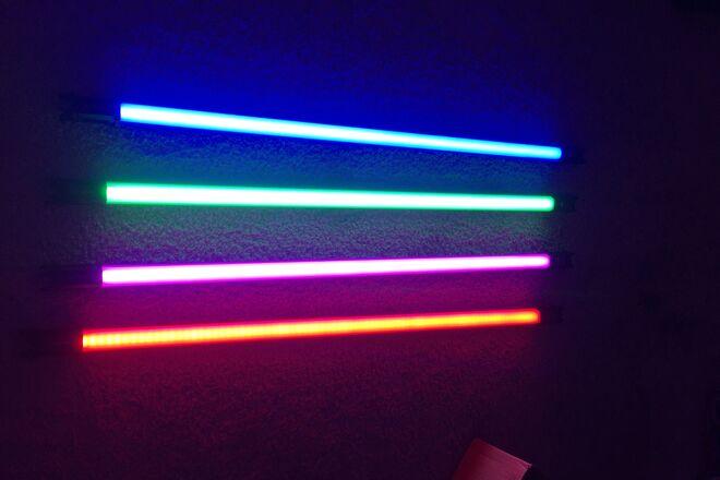 Nanlite Pavotube 30C - 4' RGBWW Tube Lights - Set of 4