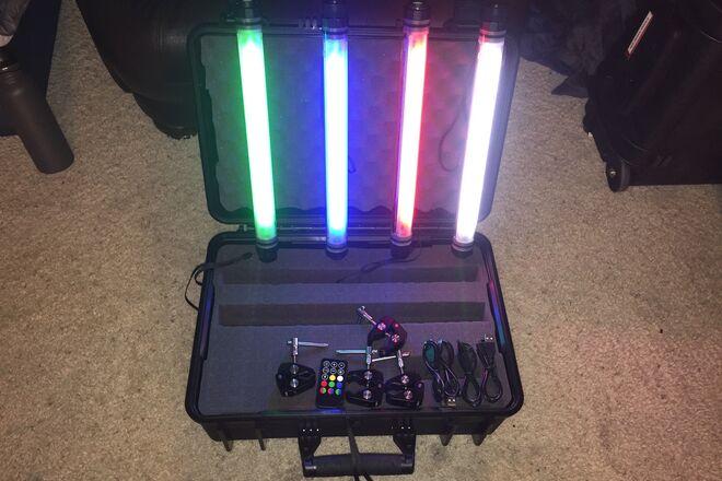1' LED Tube Light Kit + Mounting & Remote