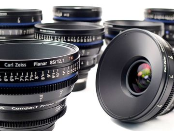 Rent: Zeiss Compact Prime CP.2 7 Lens Set in PL or EF