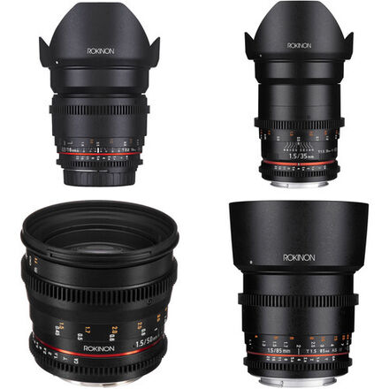 Rokinon Cine Lens Kit